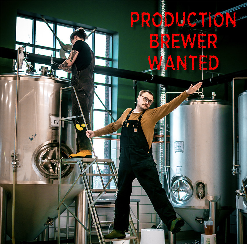 Production brewer wanted Stigbergets